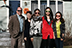 In Wayland, Massachusetts, from left, Louis V. Gaglini, associate director for employer relations at the Career Center; Xiaolin (Shirlyn) Chang, a graduate student in accounting; Xiaohui (Bessie) Luo, a graduate student in accounting and finance; Wenxiao (Wendy) Sun, a graduate student in curriculum and instruction; and Ying Jiang, a graduate student in applied developmental and education psychology.