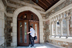 The entrance via the west portico.<br/>Photograph: Caitlin Cunningham