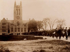 A very, very brief history of Boston College