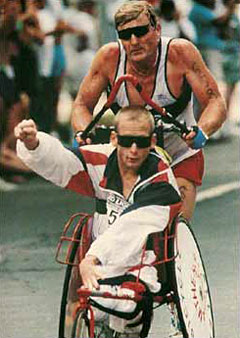 Team Hoyt: In the race